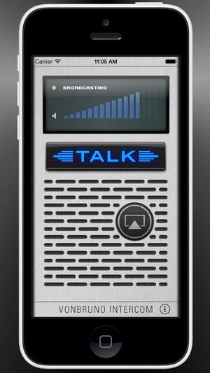 Screenshot Intercom Pro on iPhone