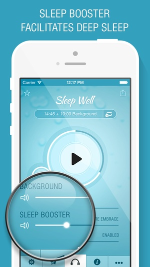 Screenshot Sleep Well Hypnosis on iPhone