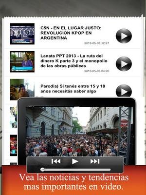 Screenshot NZ newspapers on iPad