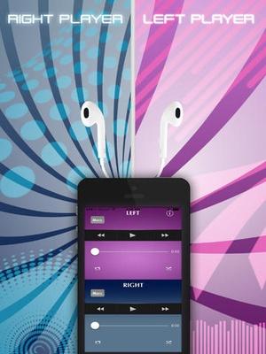 Screenshot Dual Music Player  on iPad