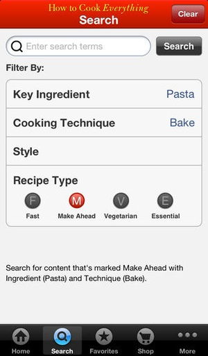Screenshot How to Cook Everything on iPhone