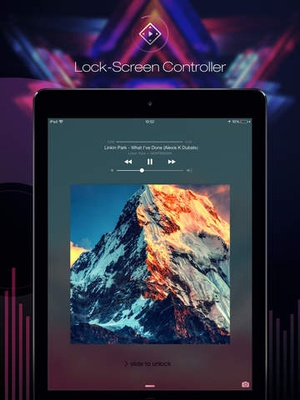 Screenshot Free Music Online and MP3 Player Manager on iPad