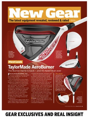 Screenshot Today's Golfer Magazine on iPad