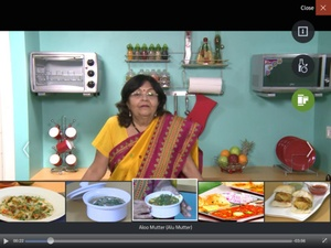 Screenshot Indian Recipes by ifood.tv on iPad