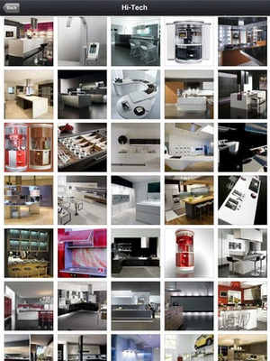 Screenshot Kitchen Photo Catalog on iPad