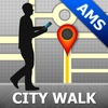 Amsterdam Map and Walks, Full Version