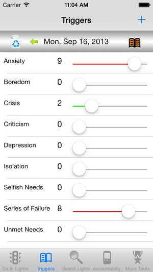 Screenshot recoveryBox Addiction Recovery Toolbox on iPhone