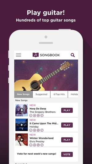 Screenshot Guitar! by Smule on iPhone