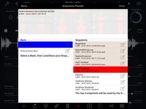 Screenshot Dedalus on iPad