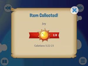 Screenshot Bible for Kids on iPad