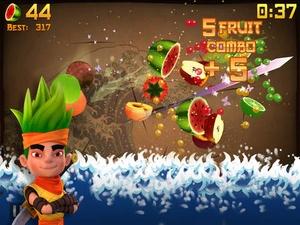 Screenshot Fruit Ninja on iPad