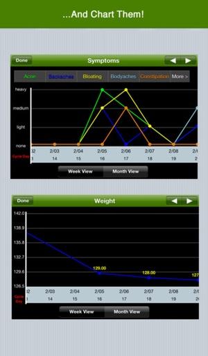 Screenshot Period Tracker Deluxe on iPhone