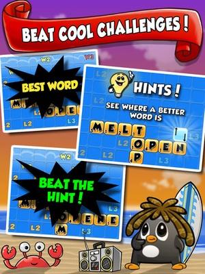 Screenshot Word Chums on iPad