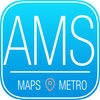 Amsterdam Travel Guide with Metro Map and Route Planner Navigator