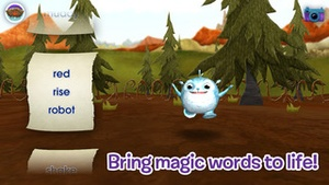 Screenshot Wallykazam! Letter and Word Magic on iPhone