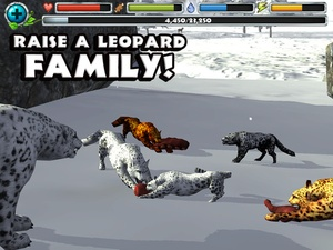 Screenshot Snow Leopard Simulator on iPad