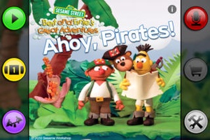 Screenshot Bert and Ernie's Great Adventures: Ahoy, Pirates! on iPhone