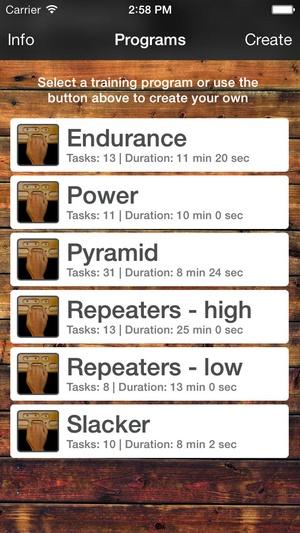 Screenshot Digit Trainer on iPhone
