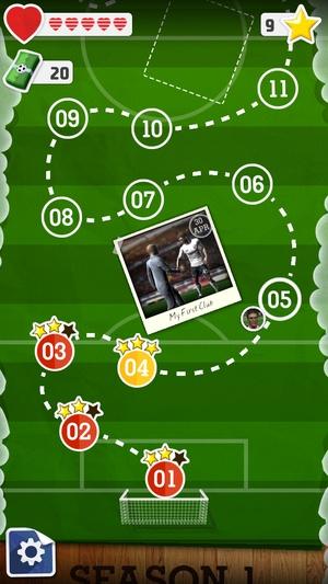 Screenshot Score! Hero on iPhone