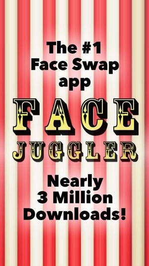 Screenshot Face Juggler FREE on iPhone