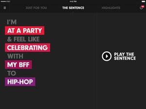 Screenshot Beats Music on iPad