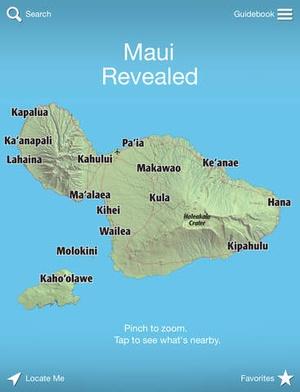 Screenshot Maui Revealed on iPad