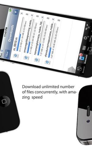 Screenshot iDownloads PLUS PRO on iPhone