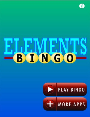 Screenshot Chemical Elements with Bingo on iPad