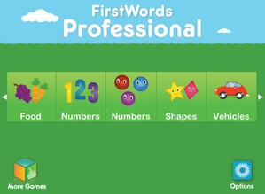 Screenshot First Words Professional on iPad