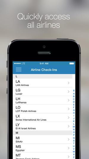 Screenshot Boarding Pass on iPhone