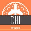 Chicago Travel Guide with Offline City Street Maps