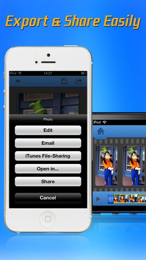 Screenshot Video to Photo Grabber on iPhone