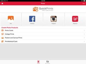 Screenshot Walgreens on iPad