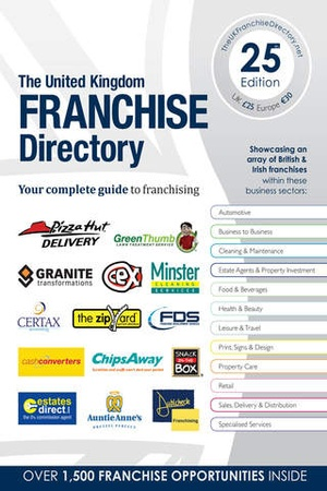 Screenshot The UK Franchise Directory on iPhone