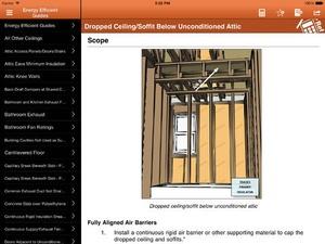 Screenshot Home Builder Pocket Reference on iPad