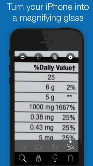 Screenshot BigMagnify Free on iPhone