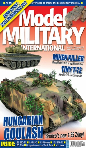 Screenshot Model Military International on iPhone