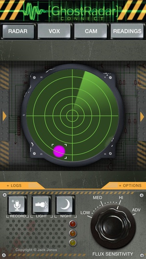 Screenshot Ghost Radar®: CONNECT on iPhone