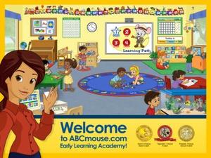Screenshot ABCmouse.com  on iPad