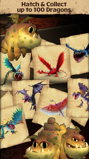 Screenshot Dragons: Rise of Berk on iPhone