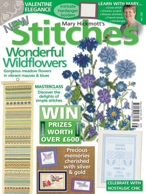 Screenshot New Stitches Magazine on iPad