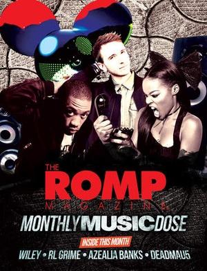 Screenshot The Romp Magazine on iPad