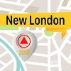 New London Offline Map Navigator and Guide