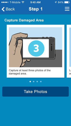 Screenshot Allstate℠ Mobile on iPhone