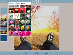 Screenshot Layover on iPad