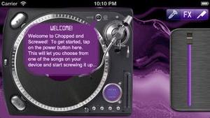 Screenshot Chopped 'n Screwed on iPhone