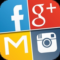 My Log In! Social Network Manager for facebook, twitter, google accounts, mail, gmail, yahoo, pinterest, instagram, vimeo, skyp