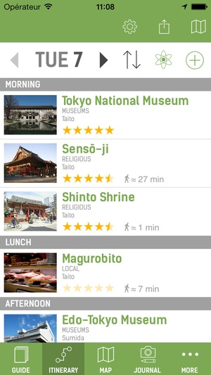 Screenshot Tokyo Travel Guide (with Offline Maps) on iPhone