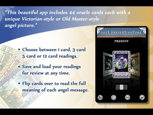 Screenshot Healing with the Angels Oracle Cards on iPad