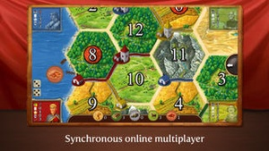 Screenshot Catan on iPhone